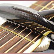 Capodastre-Zealux-multifonctionnel-pour-guitare-ukull-banjo-mandoline-basse-Accessoire-de-qualit-en-aluminium-ultra-lger-pour-instruments--4-6-et-12-cordes-Noir-0-1