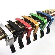 Domire-Capodastre-une-seule-main-pour-guitare-Changement-rapide-argent-0