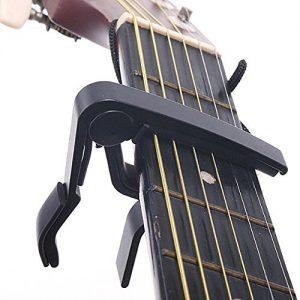 SAVFY-Capo-de-Guitare-Capodastre-Pour-Guitare-Acoustique-lectrique-Classique-Noir-0
