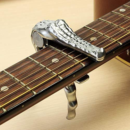 SILENCEBAN-Capodastre–changement-rapide-argent-en-forme-de-crocodile-pour-guitare-lectrique-acoustique-banjo-ukull-0